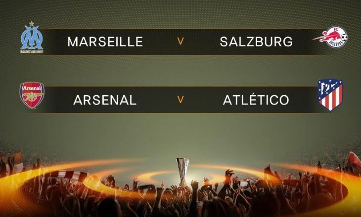 Orari i ndeshjeve gjysmëfinale të Europa League