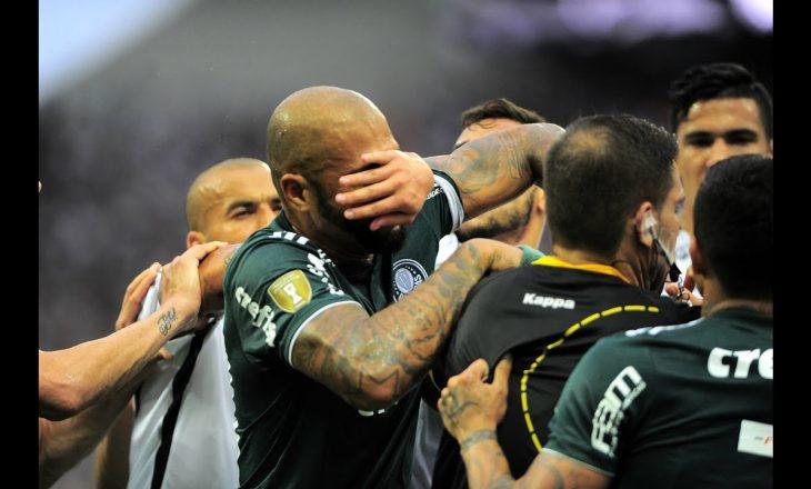 Felipe Melo shkakton përleshje në fushë (Video)
