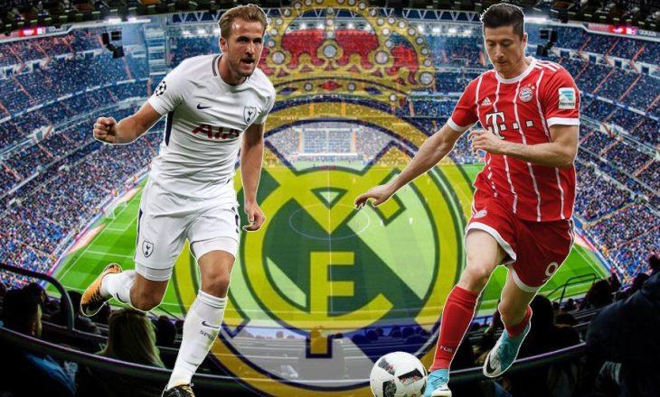 Cilin opsion do të zgjedh Real Madrid, Kane apo Lewandowski