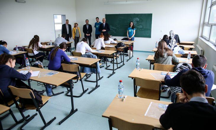 Në Prishtinë u mbajt gara e diturisë në matematikë