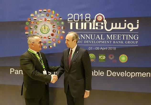 Zëvendësministri Fatmir Gashi merr pjesë në takimet vjetore të Bankës Islamike për Zhvillim në Tunis