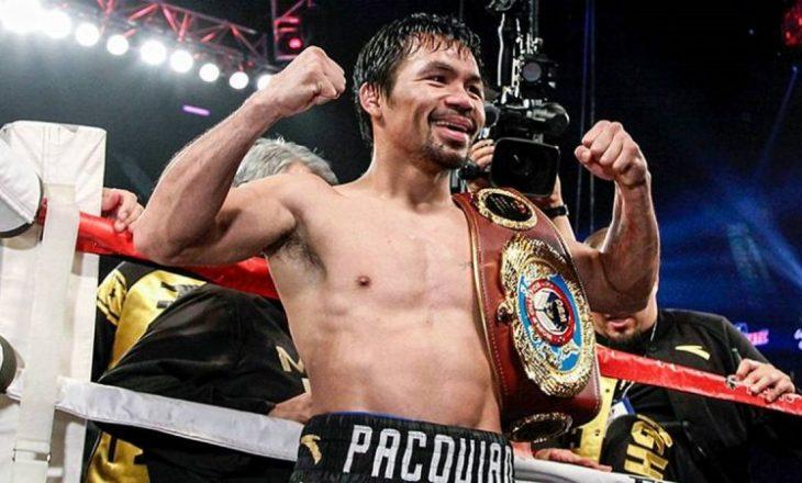 Konfirmohet rikthimi i Manny Pacquiao përsëri në ring