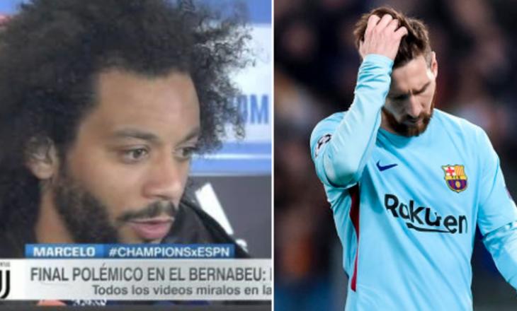 Marcelo thumbon Barcelonën, pas avancimit të Real Madrid