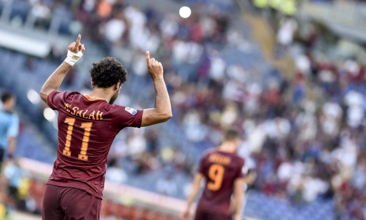 """Roma i dërgon """"selam"""" Mohamed Salah"""