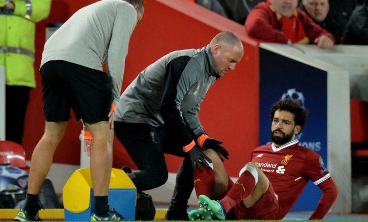 Klopp shprehet për lëndimin e Salah