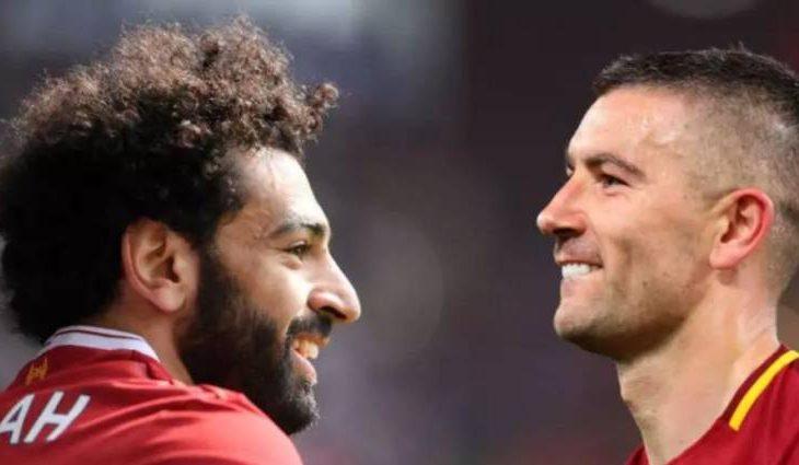 Dzeko e Salah shkëmbejnë batuta para ndeshjes