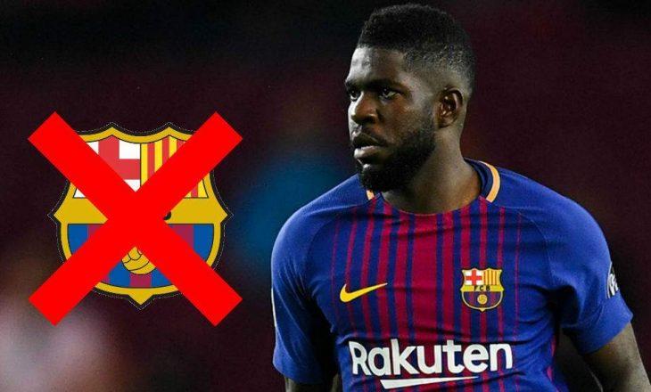 A po i thotë Umtiti lamtumirë Barcelonës ?