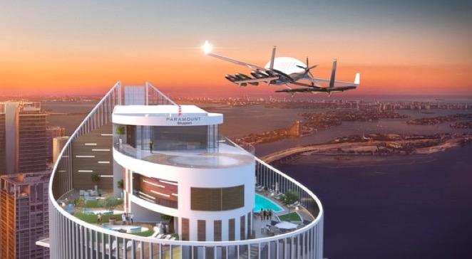 Ndërtesa në Miami që po përgatitet për takistë fluturuese