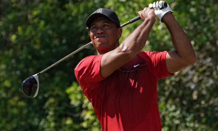 Kuriozitet / Ja sa u shit një top golfi i Tiger Woods