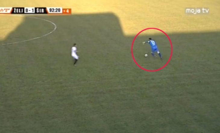 Super gol nga portieri (Video)
