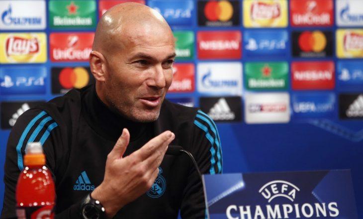 Mesazhi i Zidane para ndeshjes kundër Juventusit