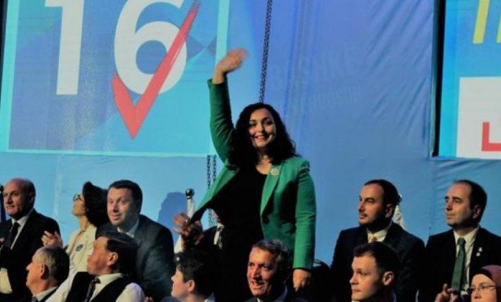 A do të kandidojë Vjosa Osmani për kryetare të LDK-së?