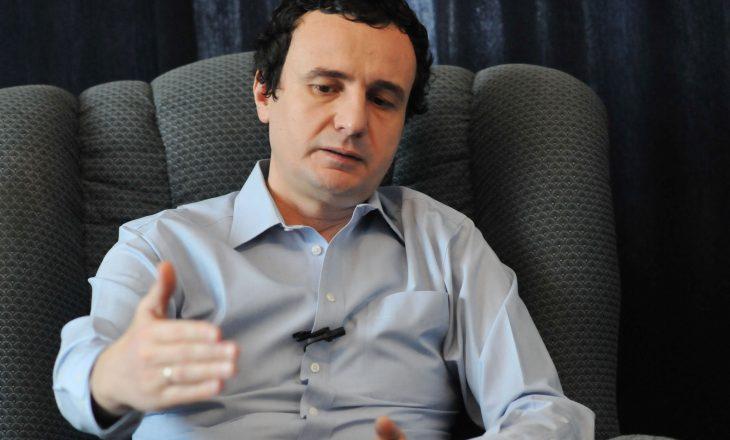 Qëndrimi i Vetëvendosjes rreth kërkesës së LDK-së për rrëzimin e Qeverisë