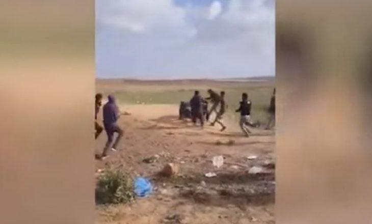 Momenti kur 15-vjeçari palestinez vritet me snajper [pamje të rënda]