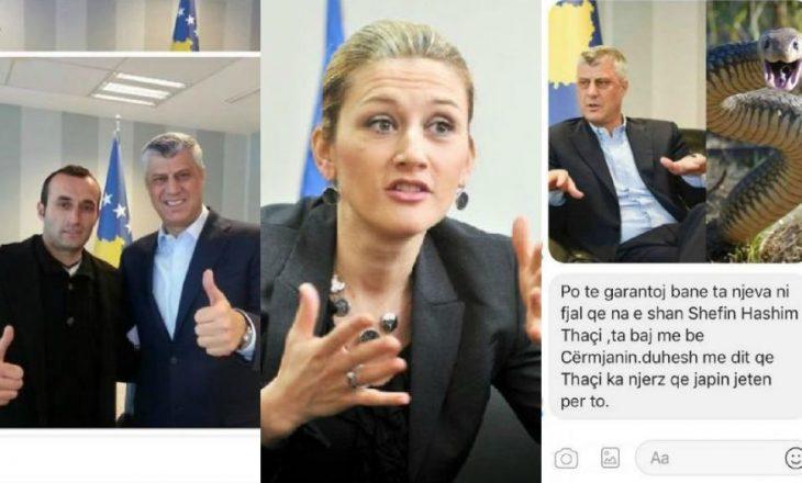 """Kusari-Lila flet për kërcënimin që ju bë nga """"bashkëpunëtori i Thaçit"""""""