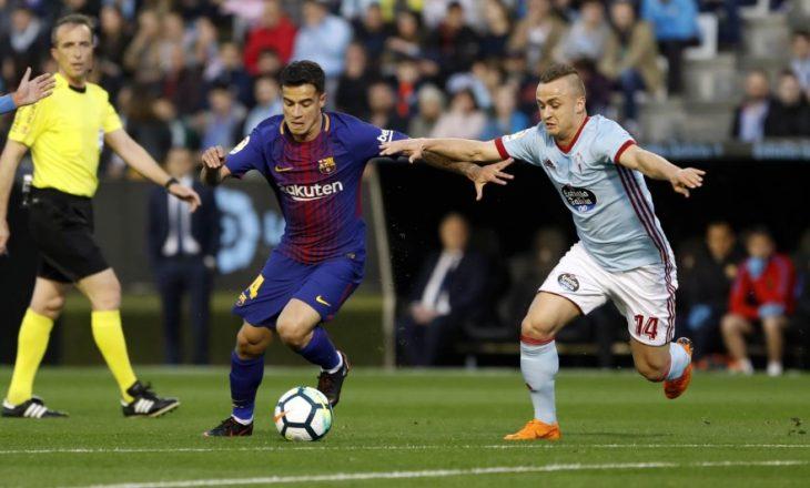 Barcelona ndalet nga Celta Vigo [Video]