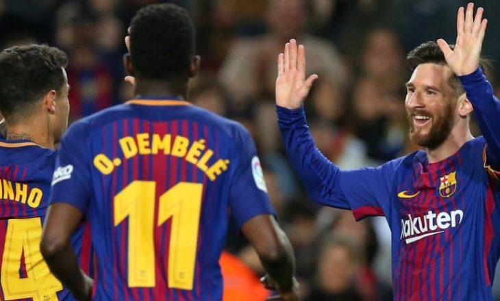 Barcelona fiton dhe barazon një super rekord