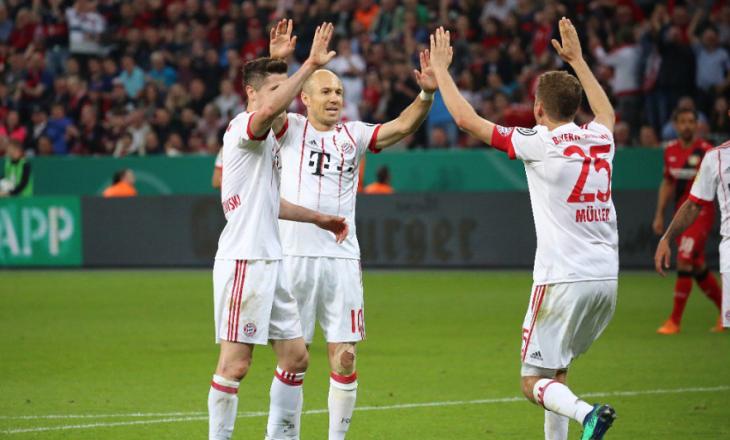 Bayerni në finale të DFB Cup, mposht Leverkusenin me rezultat shkatërrues [Video]