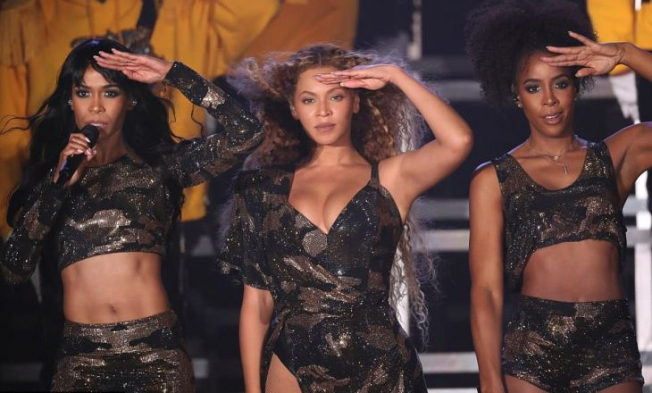 Beyonce shkëlqen në ribashkimin e Destiny's Child [Foto]