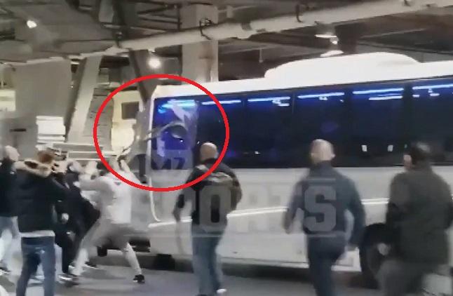 Shikojeni si Conor McGregor 'then' autobusin e Nurmagomedov (VIDEO)