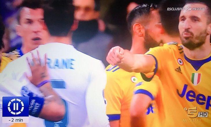 Çfarë i tha Chiellini lojtarëve të Real Madridit pas penalltisë?