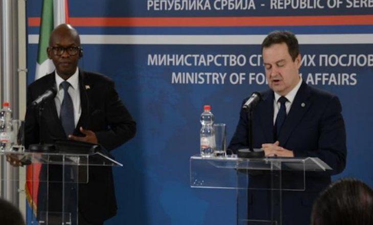 Daçiq konfirmon se Burundi e ka tërhequr njohjen e Kosovës