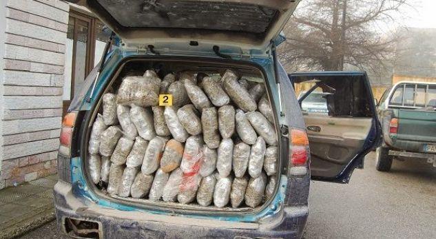 Në këtë qytet të Shqipërisë Policia kap 310 kg drogë – arrestohen gjashtë persona