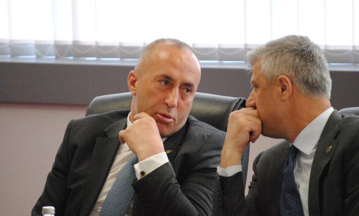 Haradinaj thotë se Thaçi s'ka punë, prandaj të merret me dialogun