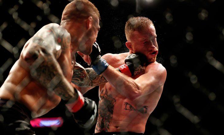 Dustin Poirier lansohet drejt majave në UFC – shikoni pamjet nga dueli i fundit