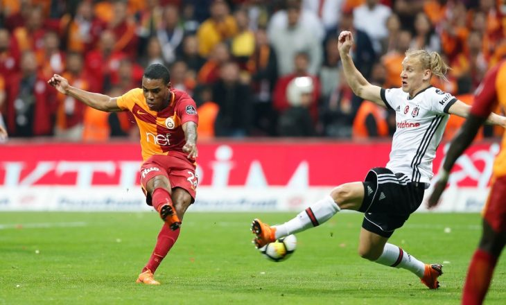 "Galatasaray ""sundon"" në Stamboll, e fiton derbin me Besiktasin (VIDEO)"
