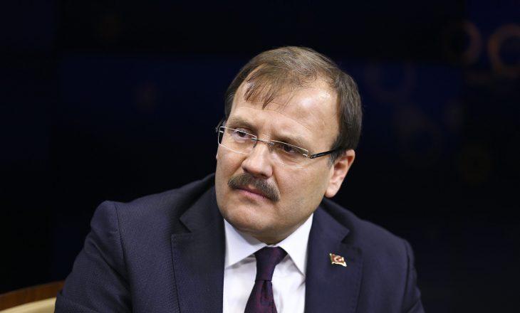 Zv/kryeministri i Turqisë: E shpëtuam Kosovën nga një kërcënim i madh