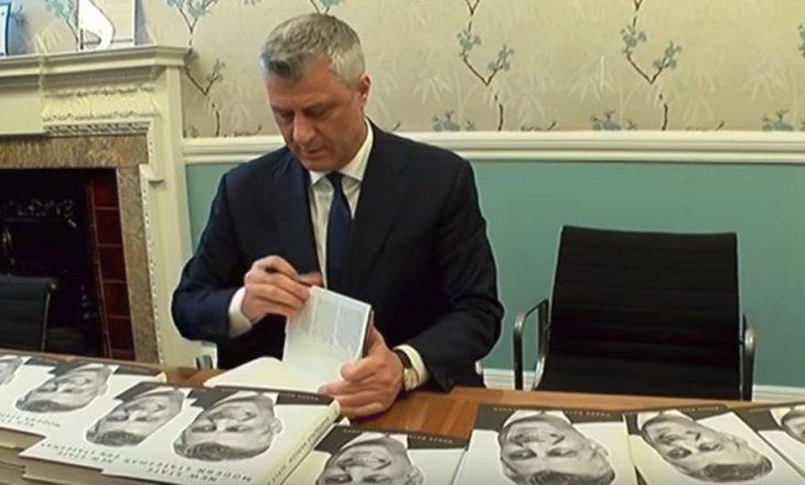 Thaçi thotë se nuk ka pasur kohë ta lexojë librin autobiografik të tij