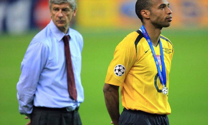 Legjenda e Arsenalit flet për Arsene Wenger