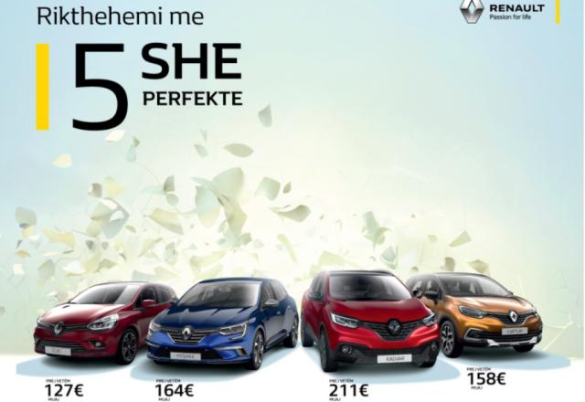 Auto Mita rikthen 5-shen perfekte – 5 arsye më shumë për t'u bërë me një Renault te ri! (Foto/Video)
