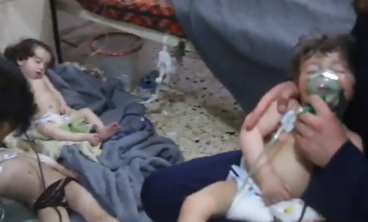 Të paktën 70 të vrarë pas sulmit kimik në Douma të Sirisë