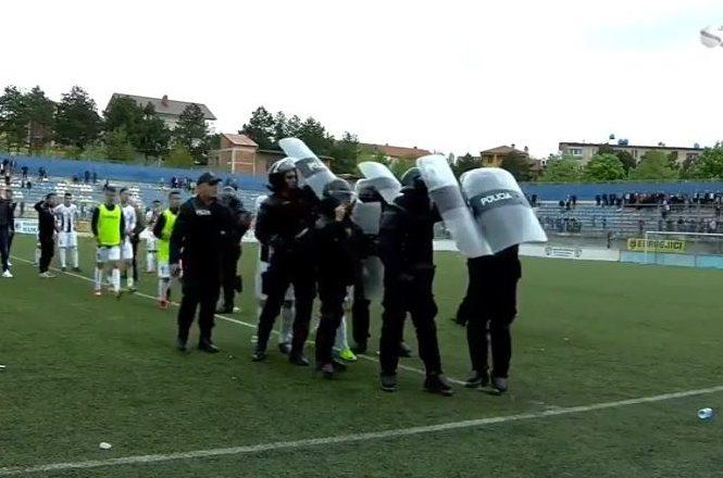 Skandal në Shqipëri, ja çfarë ndodhi në gjysmëfinalen e Kupës [Video]