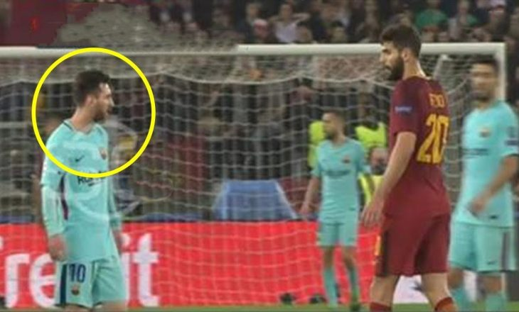 Dalin pamjet: Shikoni reagimin e Messit kur Roma shënon golin e fitores [Video]