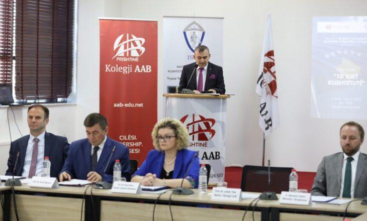 Kolegji AAB shënoi dhjetë vjetorin e Kushtetutës së Kosvovës