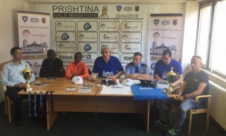 Gjithçka gati për Gjysmëmaratonën e Prishtinës