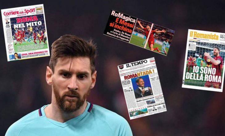 Titujt e gazetave sportive për eliminimin e Barcelonës [Foto]