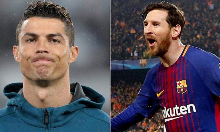 Cristiano Ronaldo mund të paguaj rreth 28 milionë euro, shkak Lionel Messi