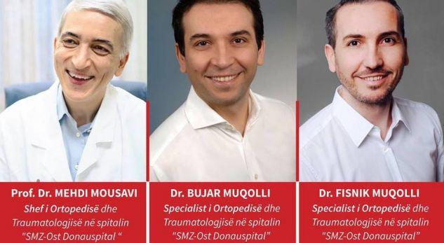 Mjekët me renome botëore vijnë në Austrian Hospital