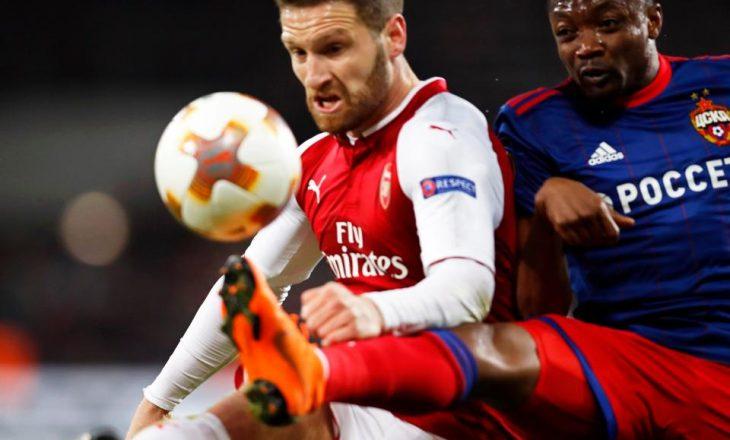 Arsenali gjen zëvendësimin e Shkodran Mustafit