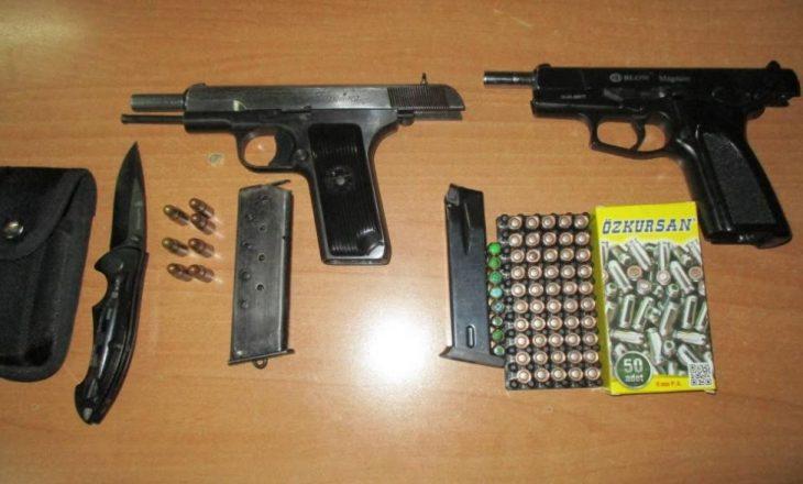 Policia konfiskon revole në Prishtinë – numri i armëve që janë konfiskuar brenda katër muajve