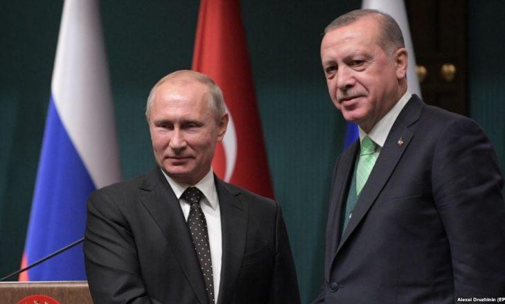 Putin takon sot Erdoganin; bisedime edhe për Sirinë