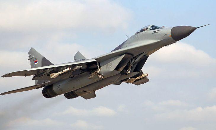 """Bjellorusia ia fali 4 avionë të vjetër """"MiG 29"""" Serbisë"""