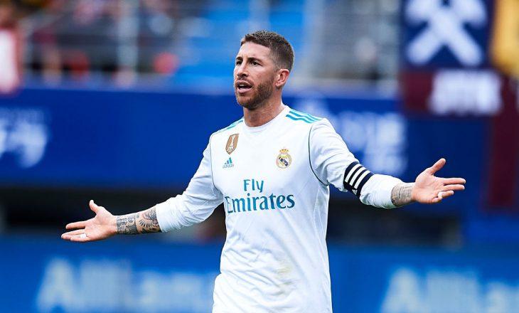 Sergio Ramos kërkon kontratë të re, Reali e refuzon