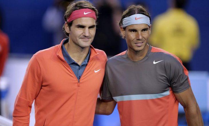 """Federer, """"frikë"""" nga Nadal"""