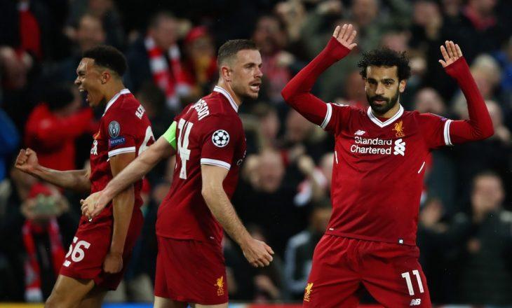 Notat e lojtarëve: Liverpool 5-2 Roma