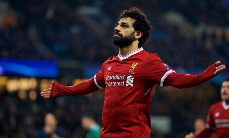 Rekordet e mëdha që Salah ka thyer në Premierligë